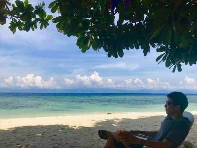 Lambug Beach, Badian