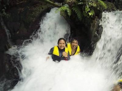 Waterfalls Couple Shot
