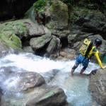 Canyoneering adventure
