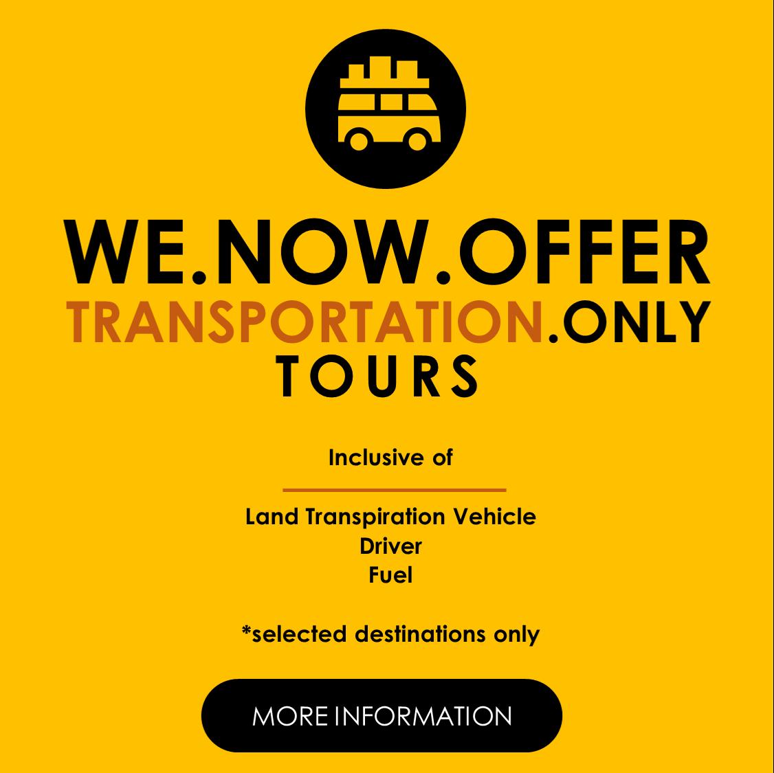 Transportation Only Cebu